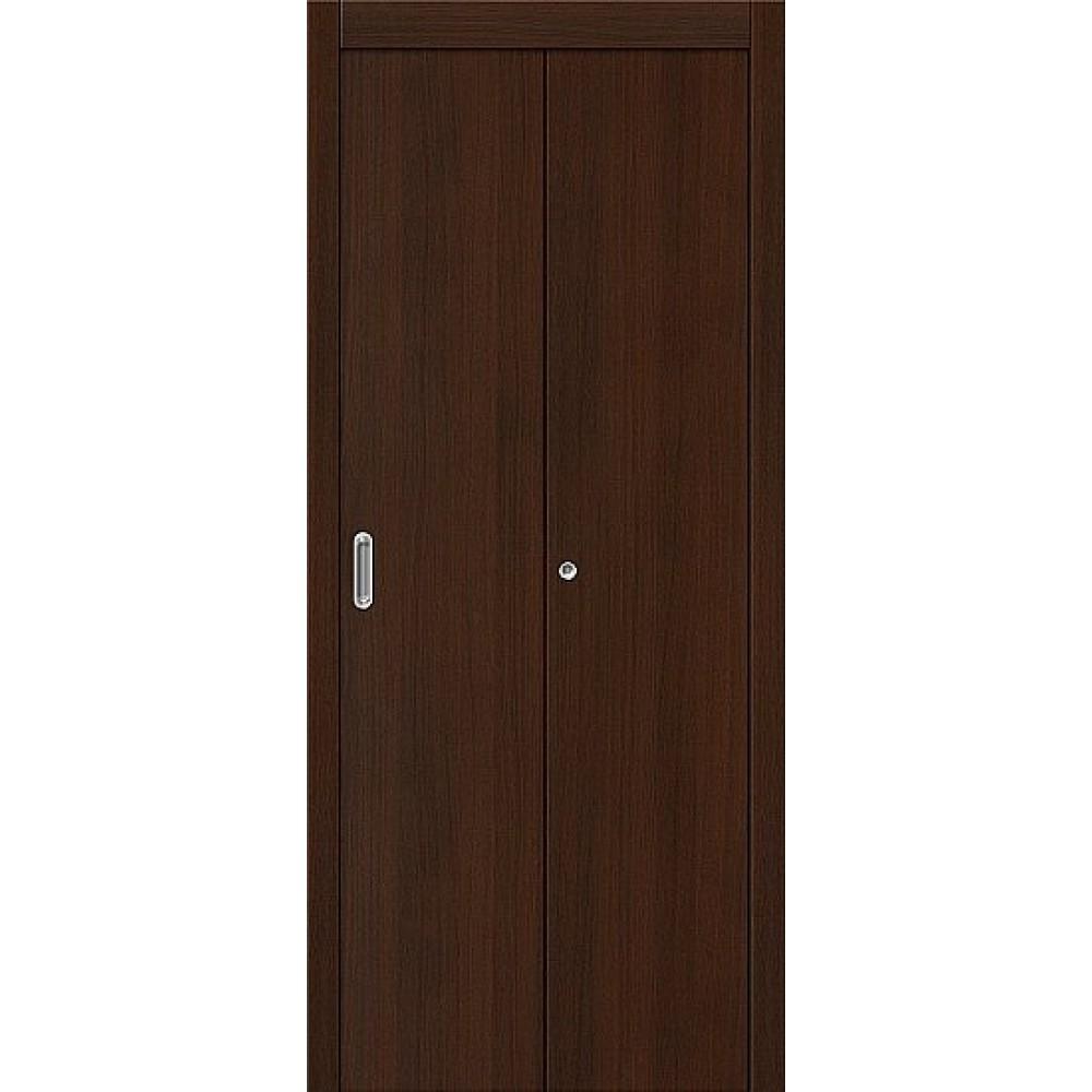 Дверь-книжка МДФ Венге 091-0384