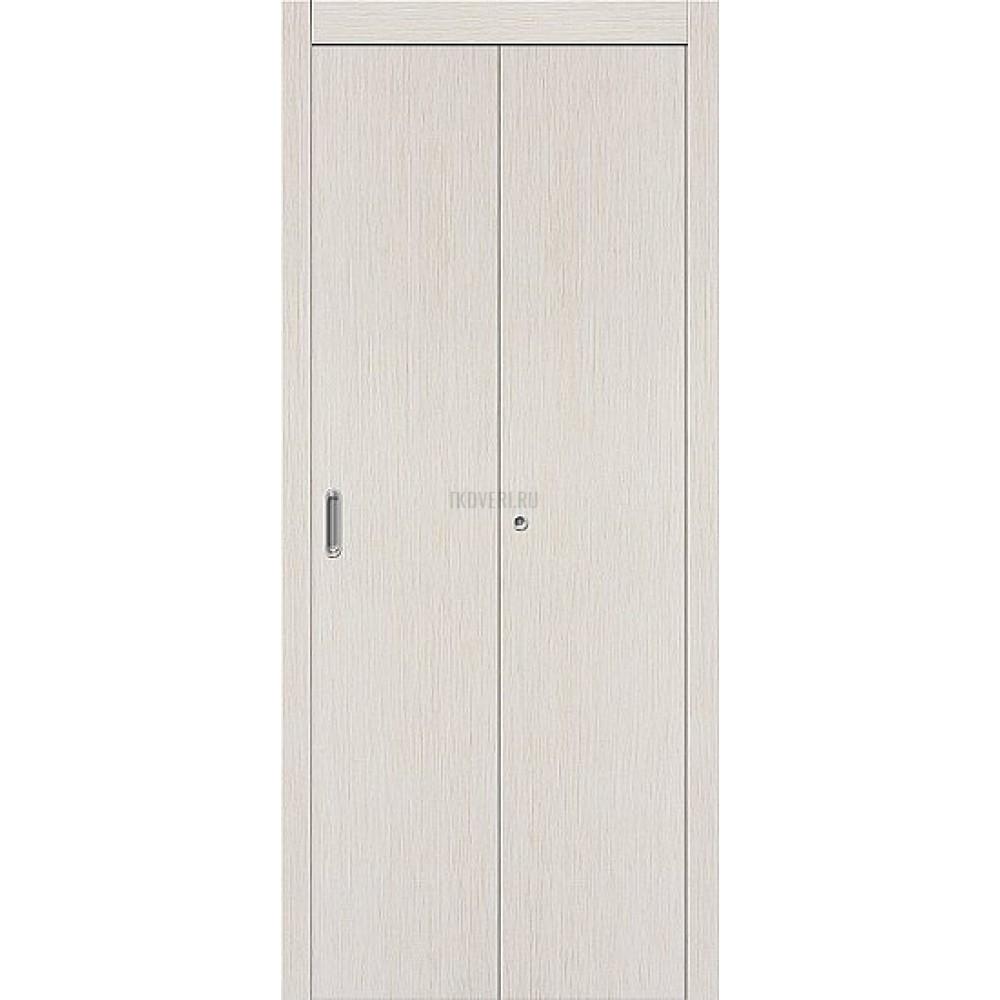 Дверь-книжка МДФ 069-0772 БелДуб