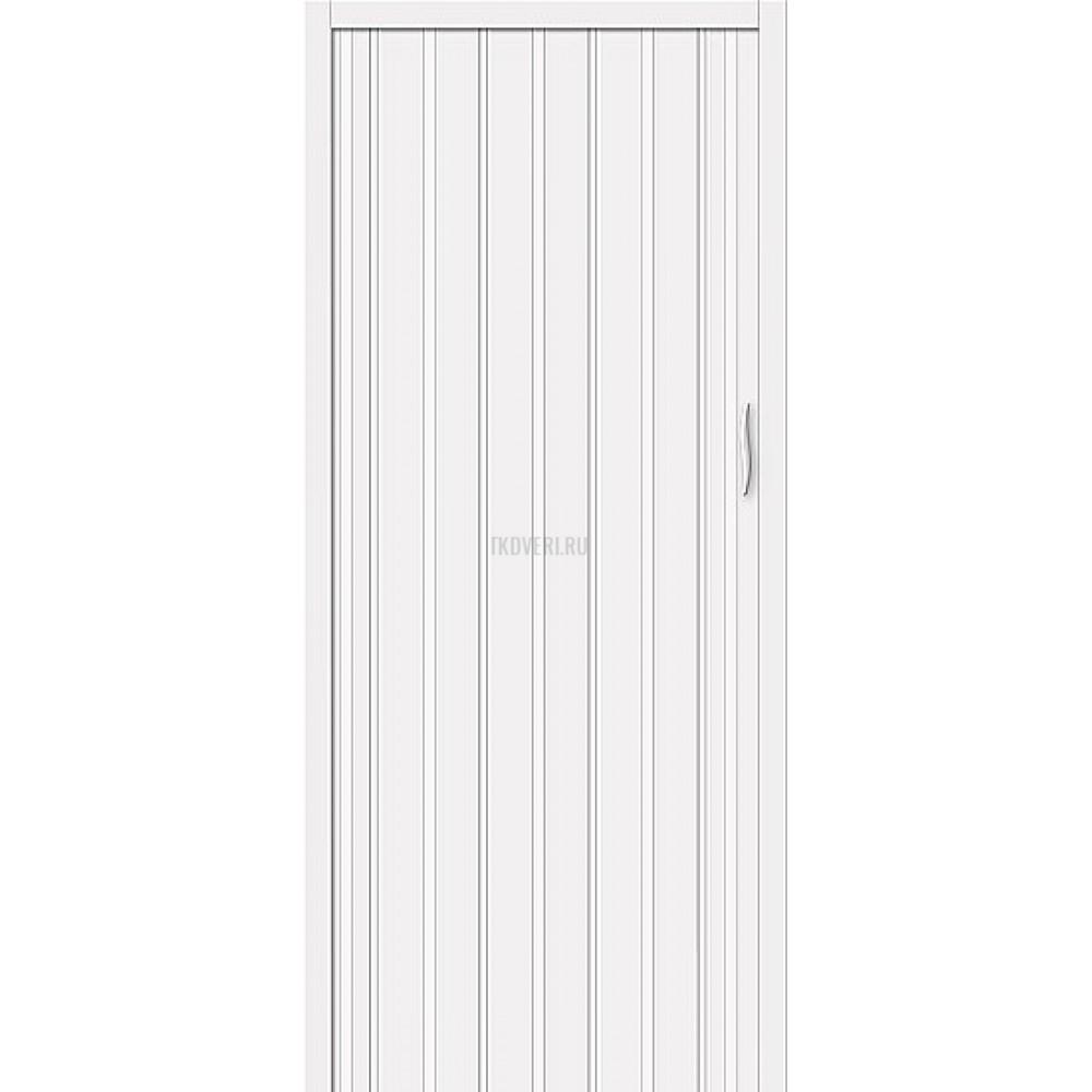 Раздвижная пластиковая дверь ПВХ Белый глянец 153-027
