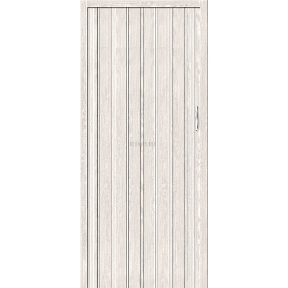 Раздвижная пластиковая дверь ПВХ Белый Дуб 153-028