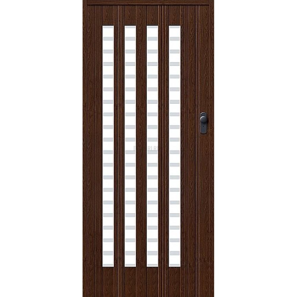 Дверь гармошка ПВХ Венге ПО