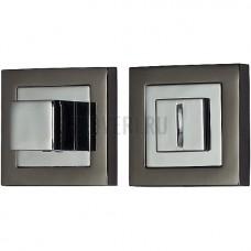Фиксатор на квадратной розетке BN/C Черный никель/Хром 046-0032