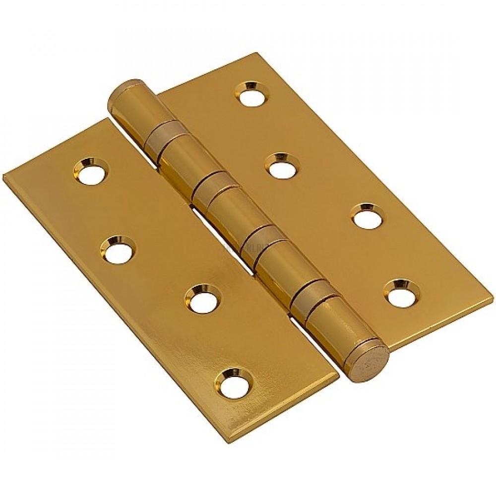 Петля врезная РВ Золото 055-0123 100*70*2,5