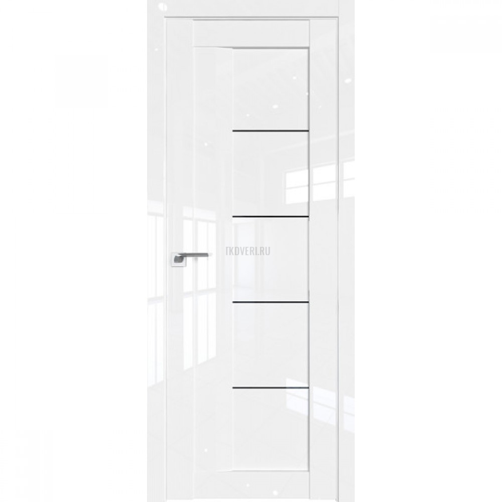 17L триплекс черный Белый люкс