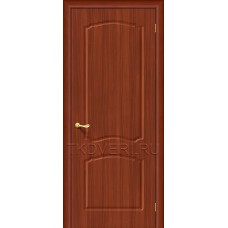 Дверь ПВХ Альфа Итальянский орех глухая