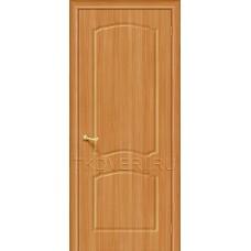 Дверь ПВХ Альфа Миланский орех глухая
