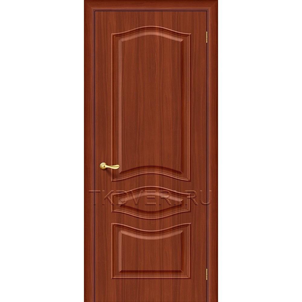 Дверь ПВХ Модена Итальянский орех глухая
