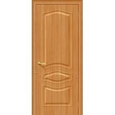 Дверь ПВХ Модена Миланский орех глухая