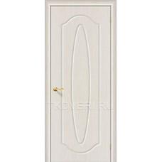 Дверь ПВХ Орбита Плюс Беленный дуб глухая