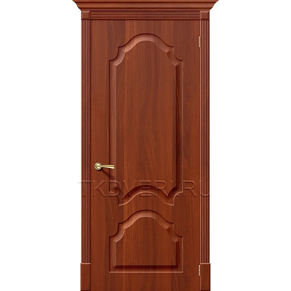 Дверь ПВХ Скинни-32 Итальянский орех глухая