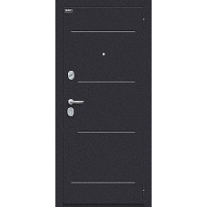 Входная дверь Техно класса Комфорт Лунный камень/Cappuccino Veralinga 033-1426