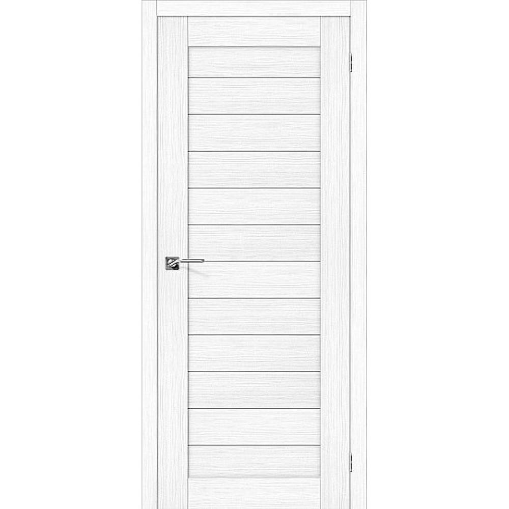 Дверь экошпон Порта-21 Snow Veralinga
