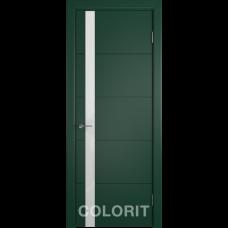 К4 COLORIT ДО белый лак Зеленая эмаль