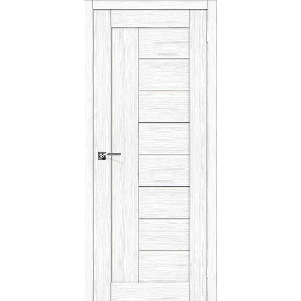 Дверь экошпон Порта-29 Snow Veralinga