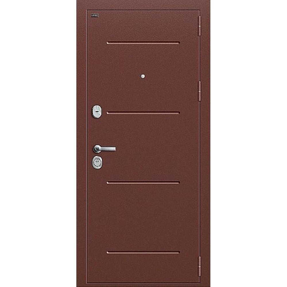 Дверь входная Groff Т2-204 Антик Медь / Wenge Crosscut