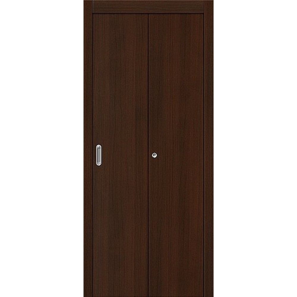 Межкомнатная дверь-книжка МДФ Венге 091-0384