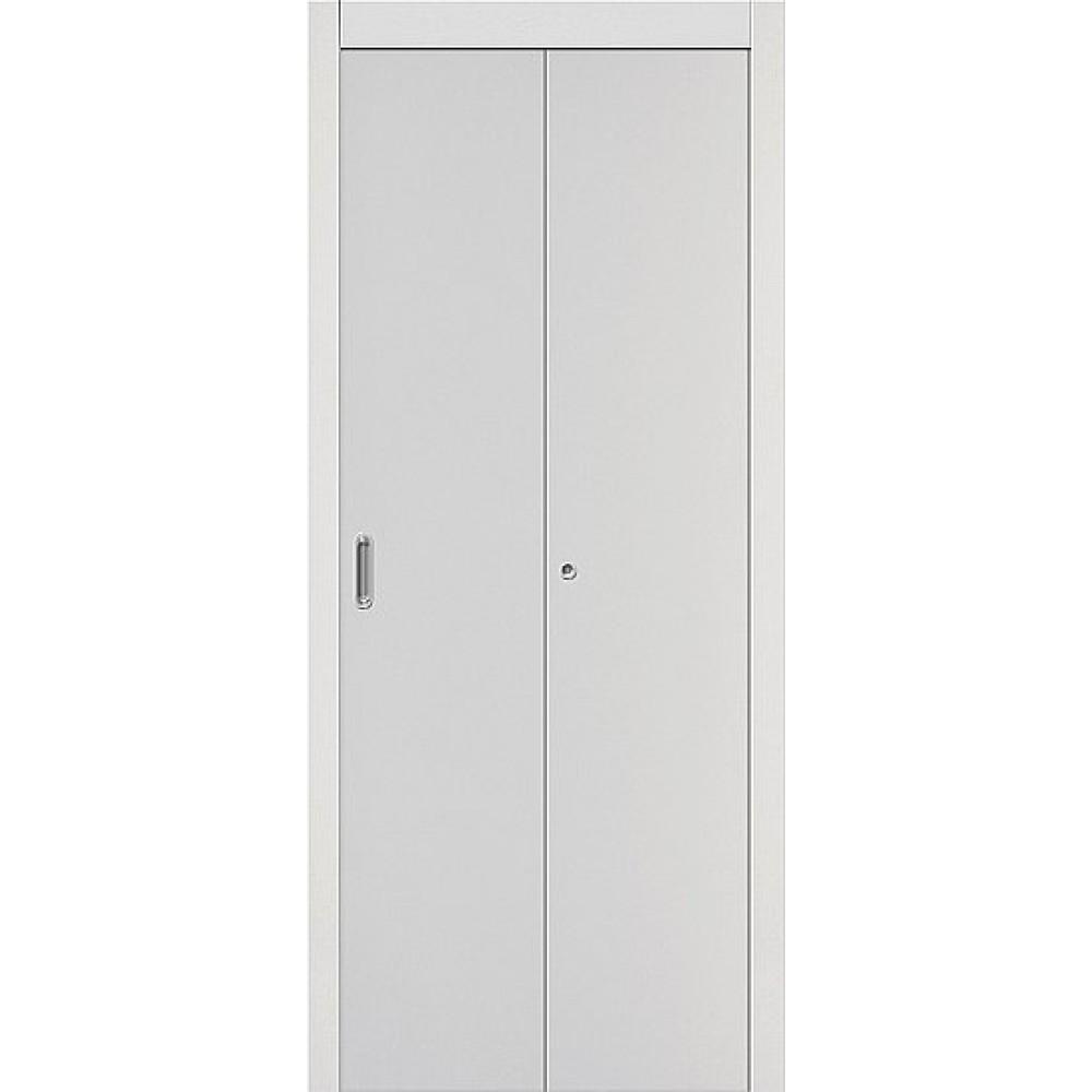 Межкомнатная дверь-книжка МДФ 069-0768 Белый
