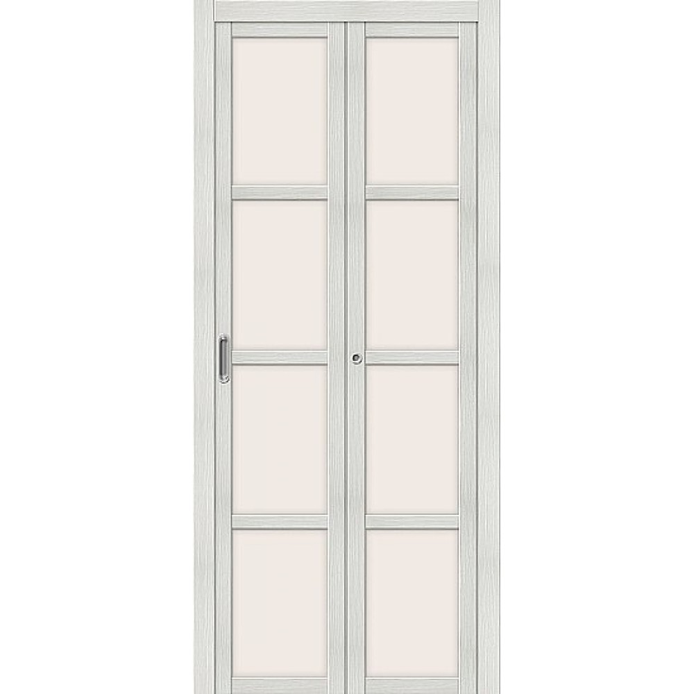 Дверь книжка  Эко Шпон Твигги V4 Bianco Veralinga