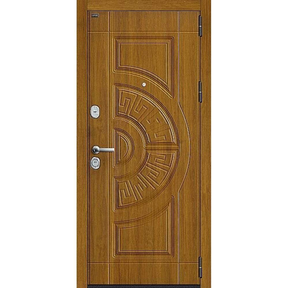 Дверь входная Groff Р3-312 П-4 Золотой Дуб / П-4 Золотой Дуб