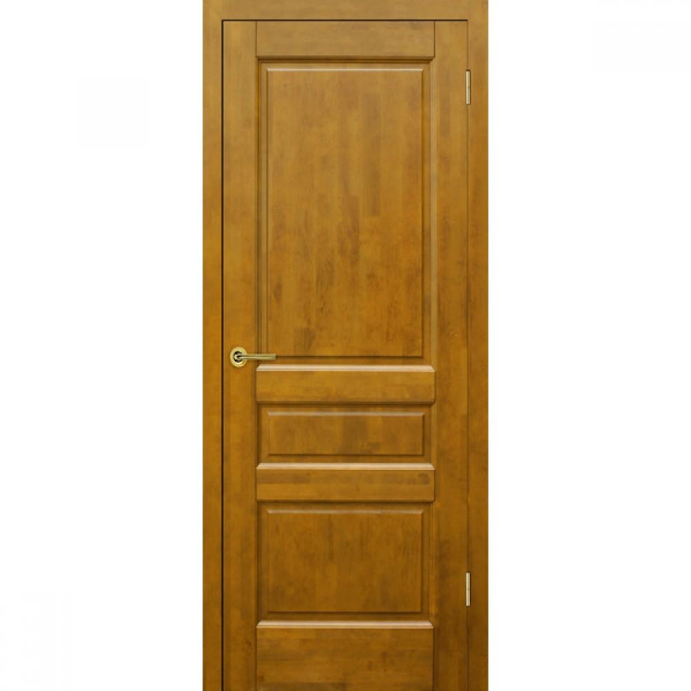 Дверь Венеция глухая Медовый орех