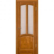 Дверь Виола остекленная Медовый орех