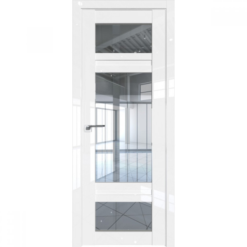 2.46L прозрачное Белый люкс