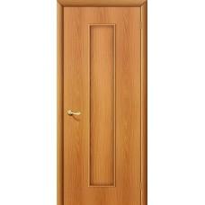 Ламинированная дверь глухая МДФ c финиш-пленкой МиланОрех 010-0169