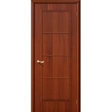 Ламинированная дверь глухая МДФ ИталОрех 010-0001
