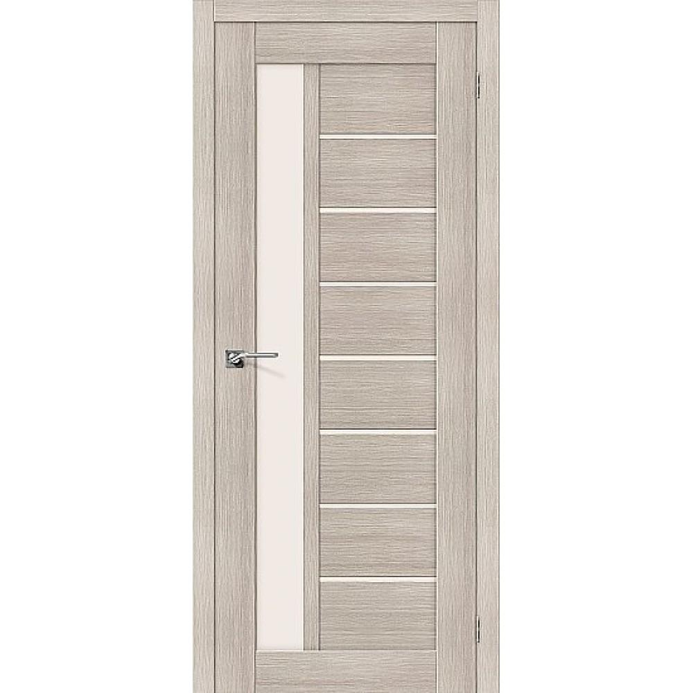 Дверь экошпон Порта-27 Cappuccino Veralinga