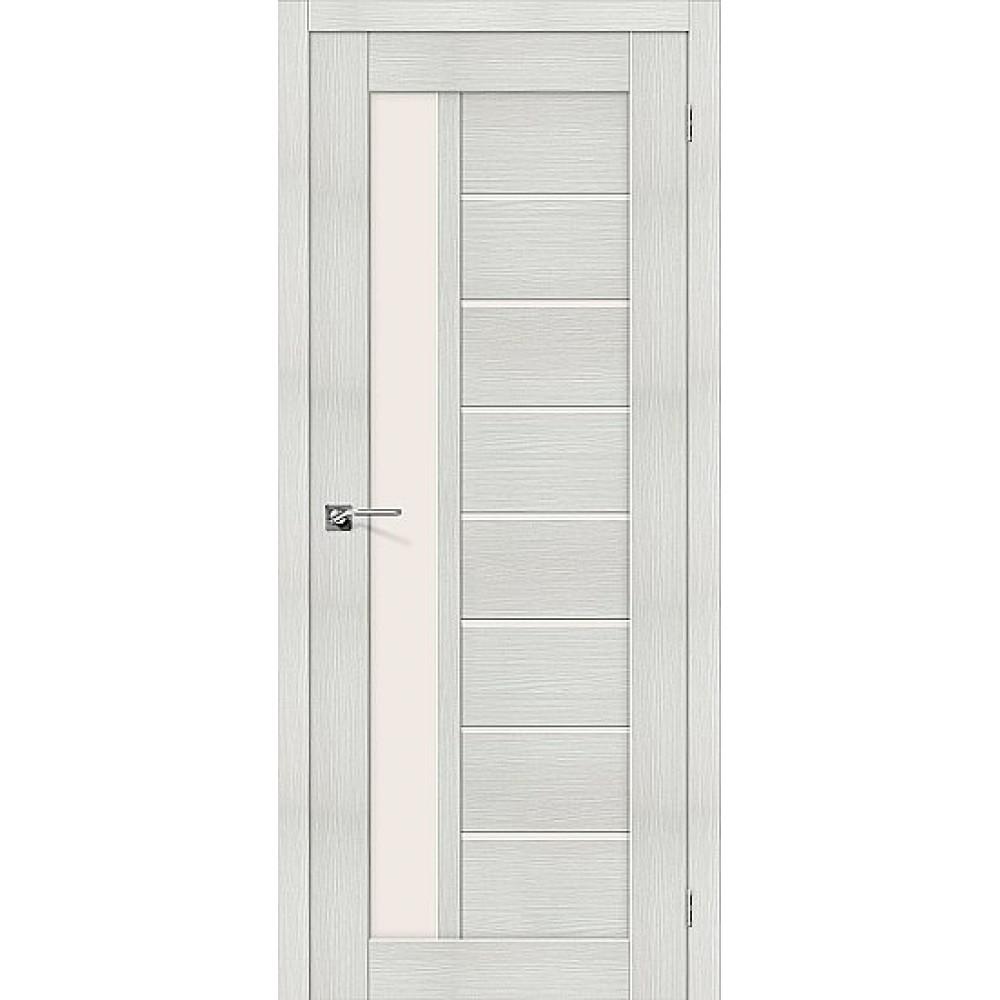 Дверь экошпон Порта-27 Bianco Veralinga