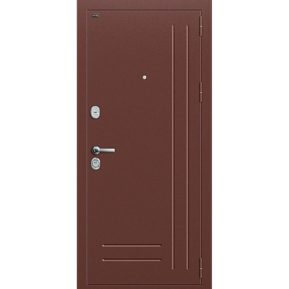Дверь входная Groff Р2-210 Антик Медь / П-1 Темный Орех